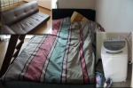 Bed, Washer, Couch - 200,000 won